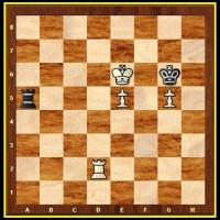 Finais de xadrez 6 - Torre e Peões...porque Rei sempre tem!