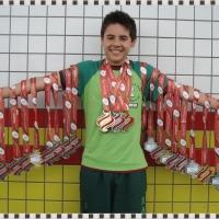 Equipe AXSBS/FMD de São Bento do Sul: 15 medalhas, 1 troféu + 9 pontos