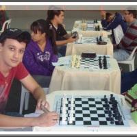 MI Luis Paulo Supi x Carine -IX Aberto de Xadrez de Registro Aberto do Brasil Centenário da Colonização Japonesa no Vale do Ribeira