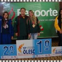 OLESC 2013 - Caçador - Carine Kátia Campestrini - OURO - Tabuleiro 4