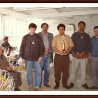 História do Xadrez Santamariense – O time Campeão do Interclubes 1992 em Jaguarão/RS