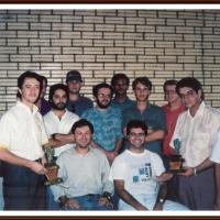 História do Xadrez Santamariense – Sperb, Ritzel e Miguel 1994 em Santo Ângelo/RS