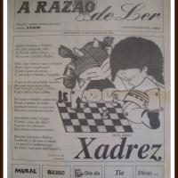 História do Xadrez Santamariense – Jornal A Razão 1996 1/4