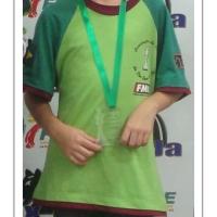São Bento do Sul é destaque no FECAJ 2014 com Camili Eduarda de Lima PRATA Sub 10 na competição Sub 16