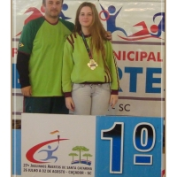 São Bento do Sul é Ouro com Fabiola Campagnolo no Rápido Individual dos Joguinhos Abertos de Santa Catarina 2014 – Caçador