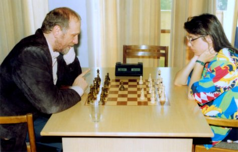 Bobby Fischer played Fischer Random with Susan Polgar