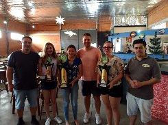 Premiação: MUNICIPAL de Xadrez de SÃO BENTO DO SUL – 46º Absoluto e 15º Feminino – Taça Boliche Bola de Ouro