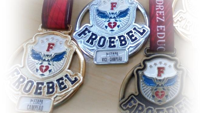 13 DE ABRIL DE 2019 – 1ª Etapa do 11º Circuito de Xadrez Rápido Colégio Froebel