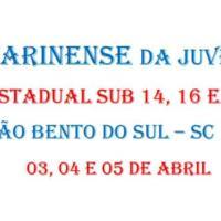 fecaj - festival catarinense da juventude - sub 14, 16 e 18 absoluto e feminino - 3, 4 e 5 de abril