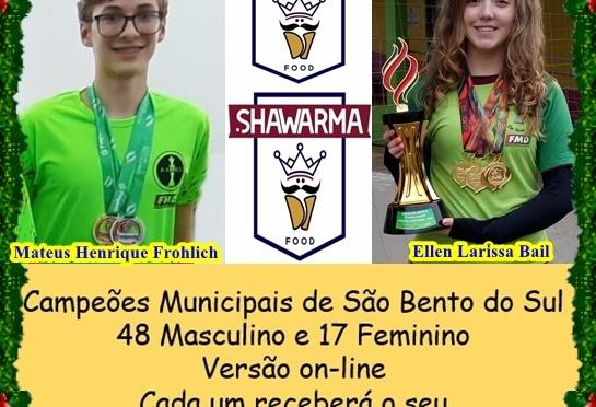 CAMPEÕES RECEBEM O LANCHE CAMPEÃO: UM SHAWARMA REI !!