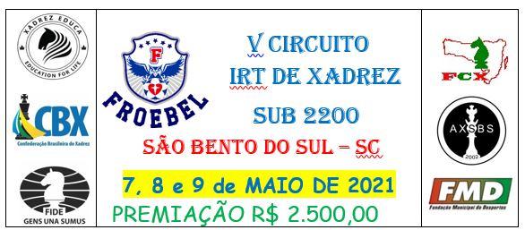 IRT SUB 2200 – 07, 08 E 09 DE MAIO DE 2021! – EVENTO PRESENCIAL !!