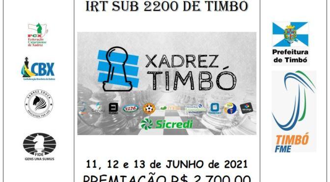 CIRCUITO IRT TIMBO SUB 2200