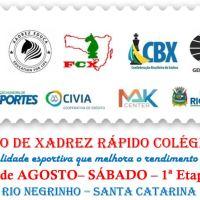 13º Circuito de Xadrez Rápido Colégio Froebel - 1ª Etapa