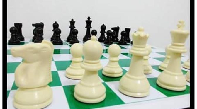 Jogo De Xadrez Profissional Pesado -raro